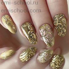золотой винтажный дизайн ногтей: 21 тыс изображений найдено в Яндекс.Картинках