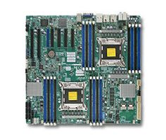 DP Xeon® Motherbord - X9DAX-7F  Dual socket R (LGA 2011) supports Intel® Xeon® processor E5-2600 and E5-2600 v2 family†, Intel® C602 chipset; QPI up to 8.0GT/s.....  http://www.connecting2technology.com/dp-xeon.php