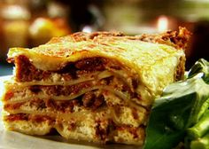 The Ultimate Lasagna recipe from Tyler Florence via Food Network