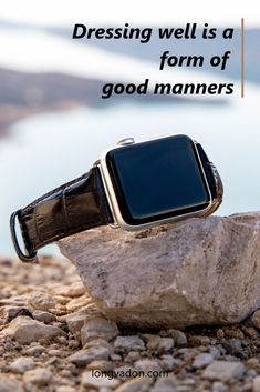 Stylish and convenient to wear, our Midnight Black Apple Watch Band is arguably the most classy of all! Part of our Men's Caiman Series, this leather watch band is timeless and elegant. Get yourself a pair of these to upgrade your Apple Watch today! Black Apple Watch Band, Apple Watch Bands, Apple Watch Leather Strap, Leather Watch Bands, Apple Watch Fashion, Stylish Mens Outfits, Fashion Quotes, Mens Fashion, Elegant