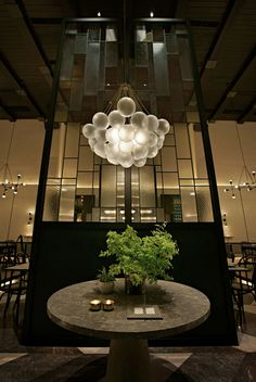 Gia is a restaurant & whisky bar located in Jakarta, Indonesia. The voluminous space is divided into a main restaurant with Italian inspired cuisine, whisky bar, wine bar, VIP zone, and external space catering to its high end cliental with dining and wine bar.