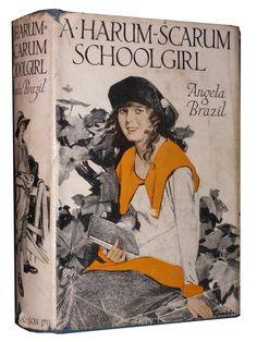 A Harum Schrum School Girl, Angela Brazil