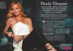 Paula Vazquez con pantalones de la coleccion de verano de LeSmoking