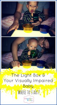 If you just got yourself a Light Box for your blind child you may not know where to begin. This is a simple activity that may interest your baby right from the start. #ULTG