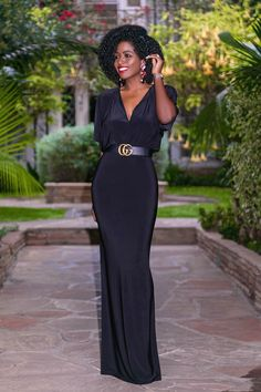 Style Pantry | V-Neck Maxi Dress