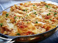 Fincsi penne a sütőből, rengeteg sajttal – könnyű és nagyon olasz étel! :)