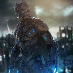 Wolf Knight Made in zbrush Rendered in post in Photoshop Fantasy Armor, Sci Fi Fantasy, Armor Concept, Concept Art, Character Concept, Character Art, Character Design, Character Ideas, Gundam
