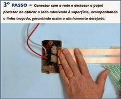 Eletrofitas - saiba como esconder fios e criar tomadas sem quebrar a parede!