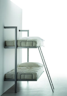 "La Literal is a space saving wall bed or ""murphy bed"" system of folding bunk beds designed to optimize space in small apartments, dorms, hotels and more."