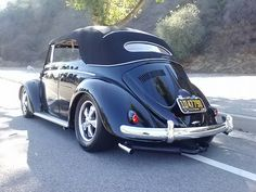 Classic VW cabriolet