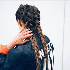 How to do two french braids on the side of your head french b02b28f80bf4901e7d549cfa4138b22c dutch plait braided pigtailsg ccuart Image collections