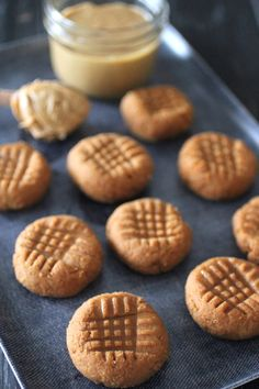 Grain Free No Bake Peanut Butter Cookies