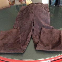 Beautiful SUDE JEANS Like new, excellent. condition ? Need a good home. Style & Co Pants