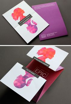 50 (More) Fantastic Printed Brochure Designs – Part II                                                                                                                                                                                 Más