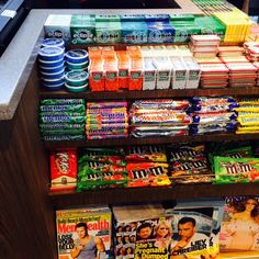 Travelers beware: Airport checkout is loaded with junk food! (Say Si Bon!, Washington, DC, 7/15)
