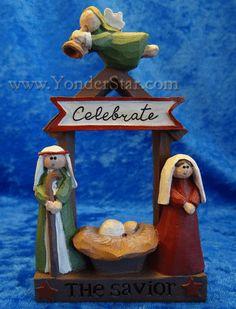 Celebrate the Savior Nativity Scene