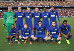 United looking good in the all new third kit. #mutour