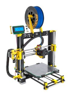 Impresora Amarilla BQ Kit Prusa Hephestos a plazos y sin intereses. 3d Printing Business, 3d Printing Service, 3d Printer Projects, 3d Printer Supplies, 3d Printing Machine, Prusa I3, Diy Robot, Best 3d Printer, 3d Cnc