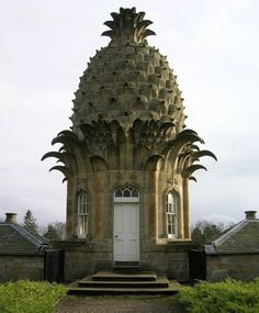 Adam X: Pineapple garden pavilion. This is the perfect tiny house, there's room in that dome for a sleeping loft.