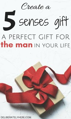 Create a 5 Senses Gift the Perfect Gift for the Man in Your Life