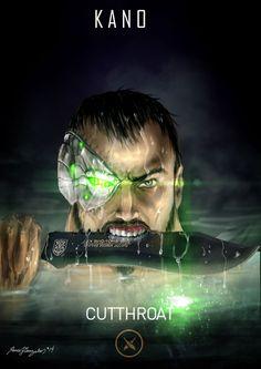 Mortal Kombat X Kano Cutthroat by Grapiqkad on DeviantArt