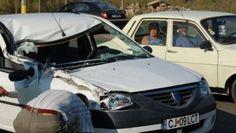 Accident rutier cu 3 VICTIME! Doua masini s-au CIOCNIT in localitatea Jucu din Cluj