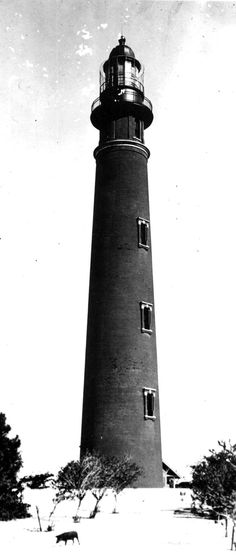 Florida Memory - Ponce de Leon Inlet lighthouse 1923
