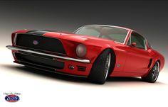 exotic mustangs | Classic Mustang Fastback wallpaper - Classic Mustang Fastback by ...