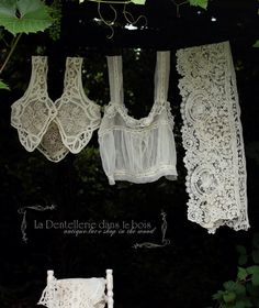 lace underthings