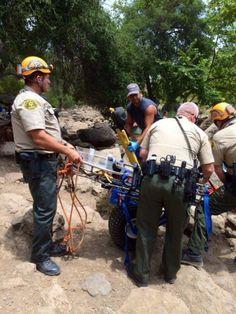 Man Rescued Sunday from Malibu Creek