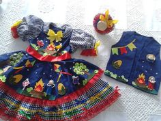 Baby Doll Clothes, Baby Dolls, Maria Clara, Country Dresses, Baby Sewing, Party Fashion, Animals And Pets, Little Girls, Girl Outfits