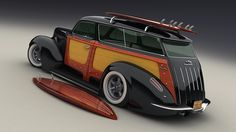 Ideas for my new Street Rod - VisualTech's awesome ride...