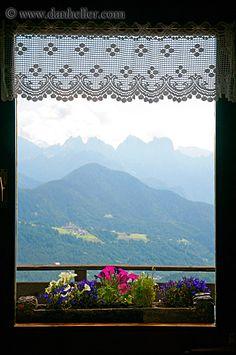 window-flowers-10.jpg alto adige, dolomites, europe, flowers, images, italy, vertical, windows