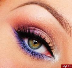 Gorgeous Makeup: Tips and Tricks With Eye Makeup and Eyeshadow – Makeup Design Ideas Fall Eye Makeup, Eye Makeup Tips, Beauty Makeup, Hair Makeup, Prom Makeup, Beauty Tips, Beautiful Eye Makeup, Pretty Makeup, Love Makeup
