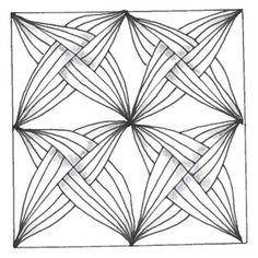 Gotcha monotangle by CZT Karin Godyns