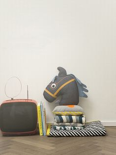 Textiles from Danish Ferm Living.