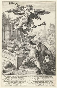 Art in Space: Hendrick Goltzius: Fame and History (1586)
