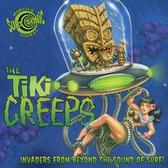LA retro-Tiki/Surf genre album..kind of punky but still surf twangy!