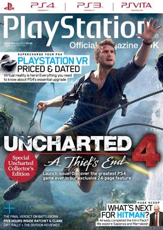 Official #PlayStation #Magazine 122. #Uncharted4, #PlaystationVR, five hours inside Ratchet & Clank, Dirt Rally + The Division reviewed. This and much more...