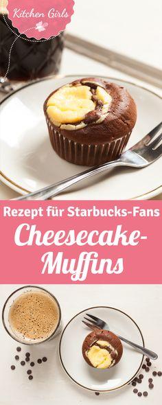 Rezept für Cheesecake Muffins wie bei Starbucks