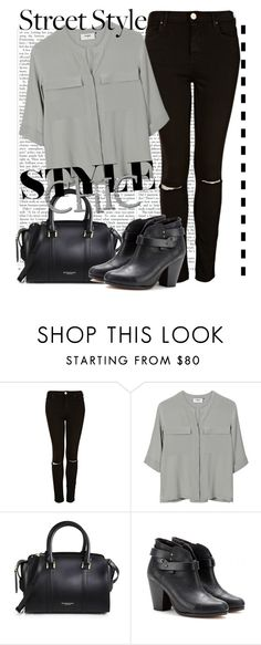 """""""untitled # 32"""" by kayleylover1995 ❤ liked on Polyvore featuring Topshop, PYRUS, Burberry and rag & bone"""