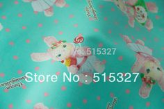 50cm*110cm Japanese Kokka DIY patchwork  Cotton Fabric For Sewing Dreamy Bunny  Cyan-in Fabric from Home & Garden on Aliexpress.com | Alibaba Group