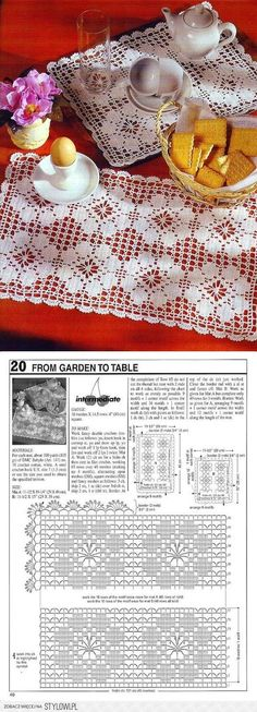 Velkommen til Telenor E-post Filet Crochet, Crochet Diagram, Crochet Chart, Thread Crochet, Crochet Placemats, Crochet Table Runner, Lace Doilies, Crochet Doilies, Crochet Motif Patterns