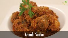 Alambi Sukka | Sanjeev Kapoor Khazana --mushroom