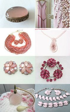 The softer color: PINK by www.etsy.com/shop/RenaissanceFair --Pinned with TreasuryPin.com #treasury #giftguide #vintage