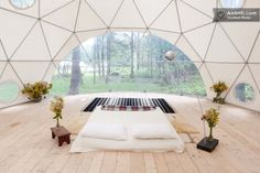 Geodesic Dome in the Catskills in Woodridge