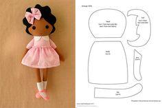 PDF doll body Cloth Doll Pattern PDF Sewing Tutorial+ Pattern Soft Doll Pattern sewing dolls, cloth doll, make a doll, make doll body Fabric Doll Pattern, Felt Doll Patterns, Doll Clothes Patterns, Rag Doll Tutorial, Dolly Doll, Fabric Toys, Sewing Dolls, Soft Dolls, Doll Crafts