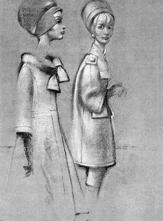A la Recherche des Modes Perdues et Oubliées: Le Jardin des Modes - Septembre 1960