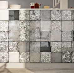 Majolica tiles: tradition and style IRIS Italian Design Textured Walls, Handmade Tiles, Tiles, Tiles Uk, Home Decor, Country Cottage Decor, Bohemian Tiles, Flooring, Italian Design