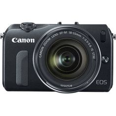 Canon   EOS-M Mirrorless Digital Camera with EF-M 18-55mm f/3.5-5.6 IS STM Lens...My dream camera to travel with...